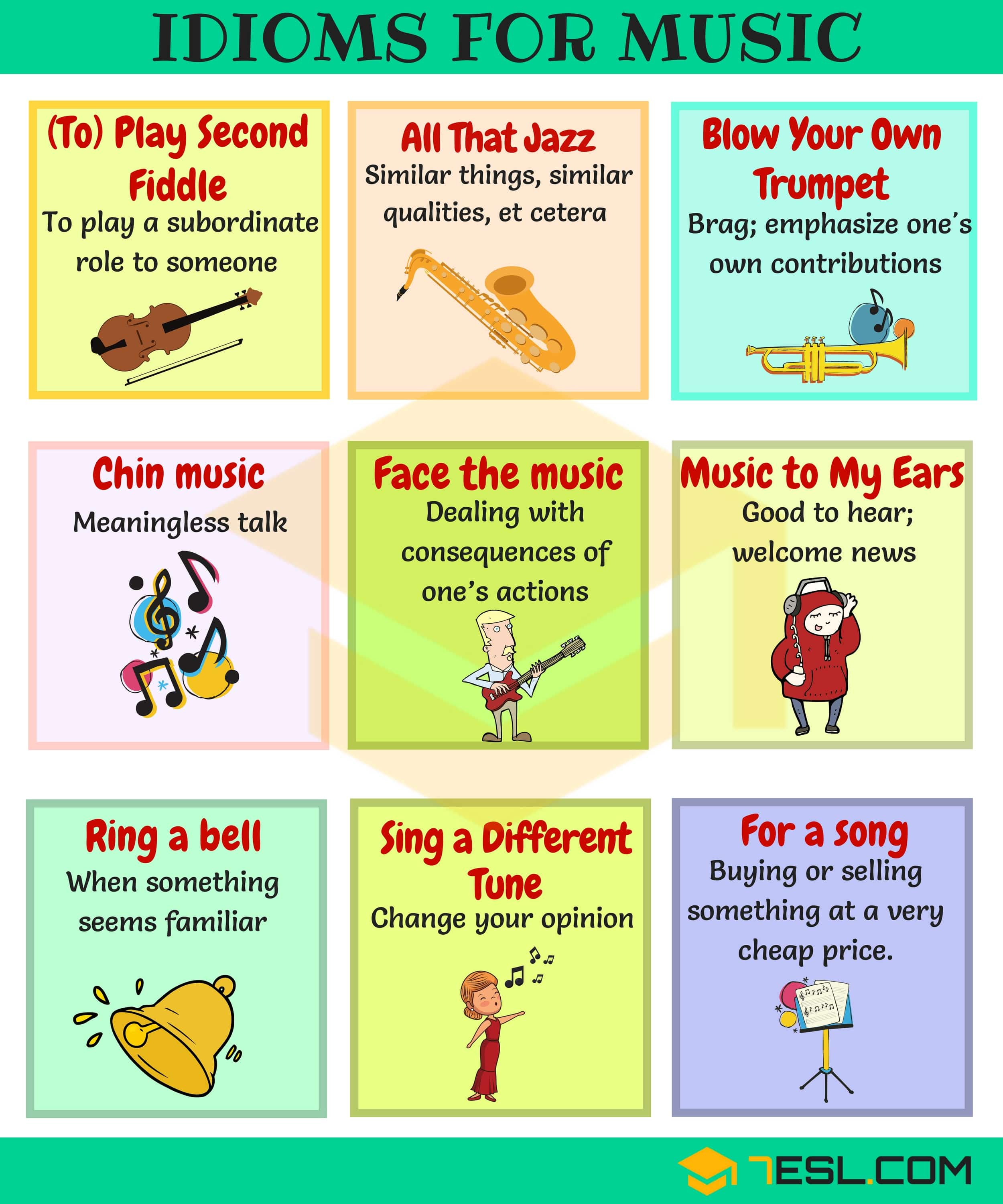 Music Idioms and Phrases