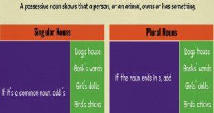 Forming Possessive Nouns | Grammar Rules & Examples