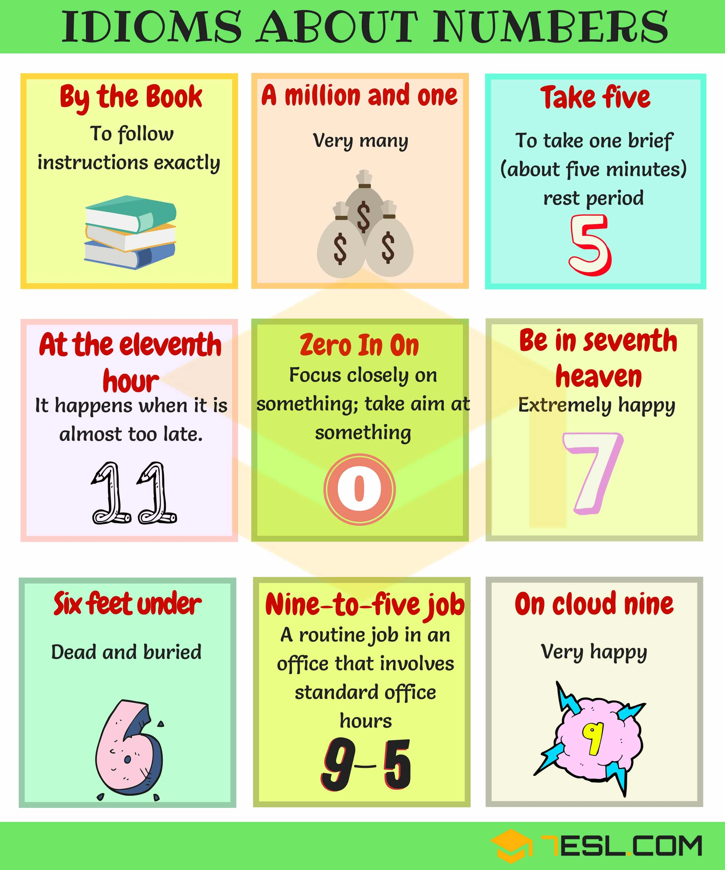 General Idioms | List of Idioms with Meaning and Examples 2