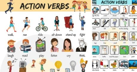 50 Common Action Verbs in English | Vocabulary 128