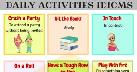 22 Commonly Used Daily Routines Idioms in English 11