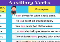 Auxiliary Verbs - Helping Verbs: Useful List & Examples 30