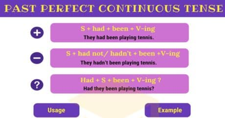 Past Perfect Continuous Tense | Rules and Examples 4