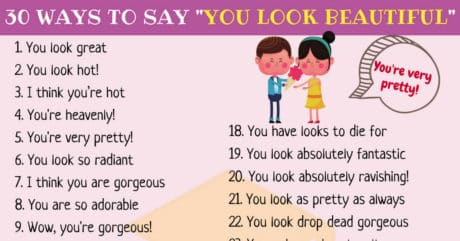 30 Different Ways to Say You Are Beautiful in English 20