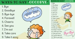 23 Smart Ways to Say Goodbye in English