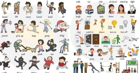 Learn 300+ Common Verbs in English with Pictures 1