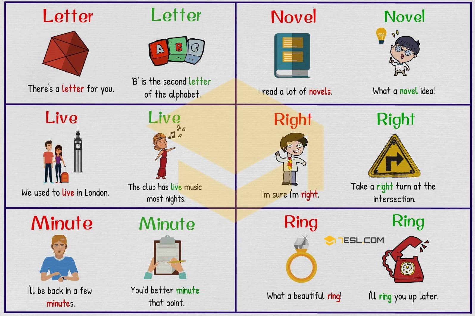 Homographs examples - image 3