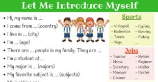 How to Introduce Yourself in English | Self Introduction