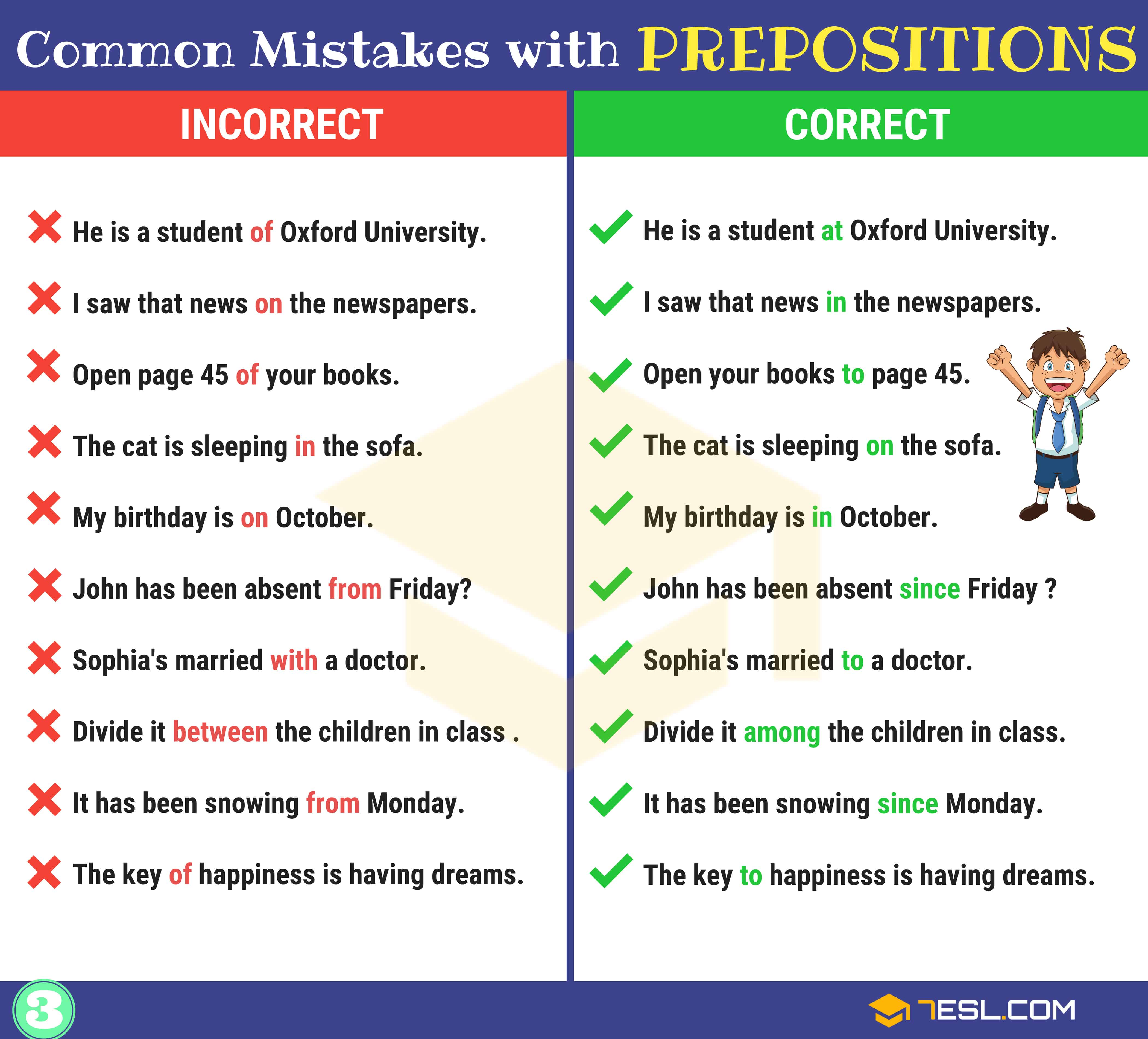 130+ Common MISTAKES With PREPOSITIONS And How To Avoid Them 4