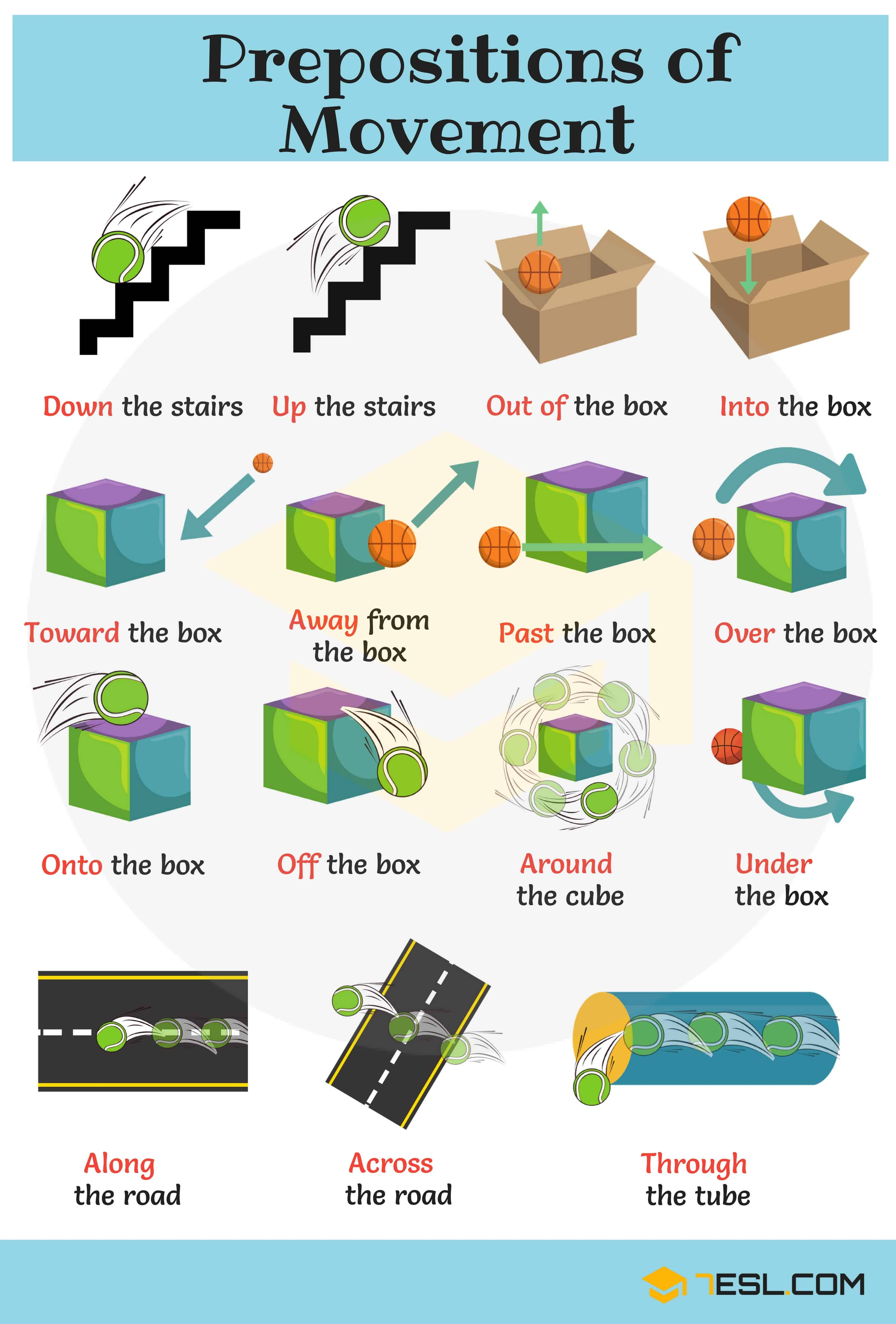 Prepositions with Pictures: Useful Prepositions for Kids 14