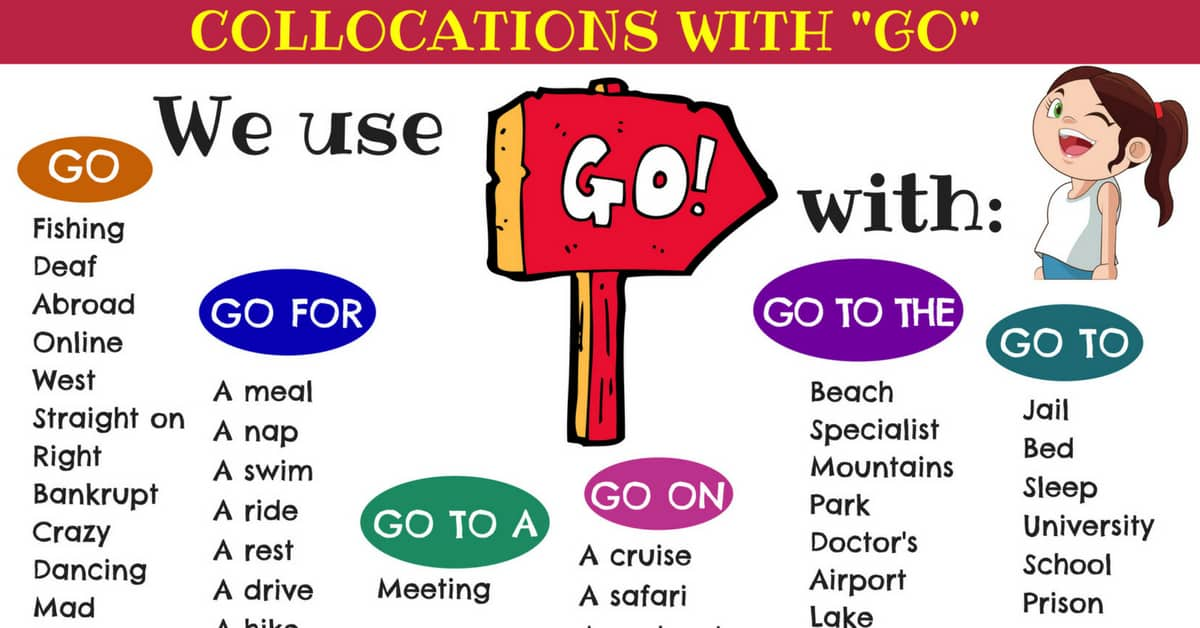 How to Use the Verb GO: Go To, Go For, Go On... 1