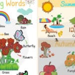 Seasons Vocabulary: Learn English Words for Seasons