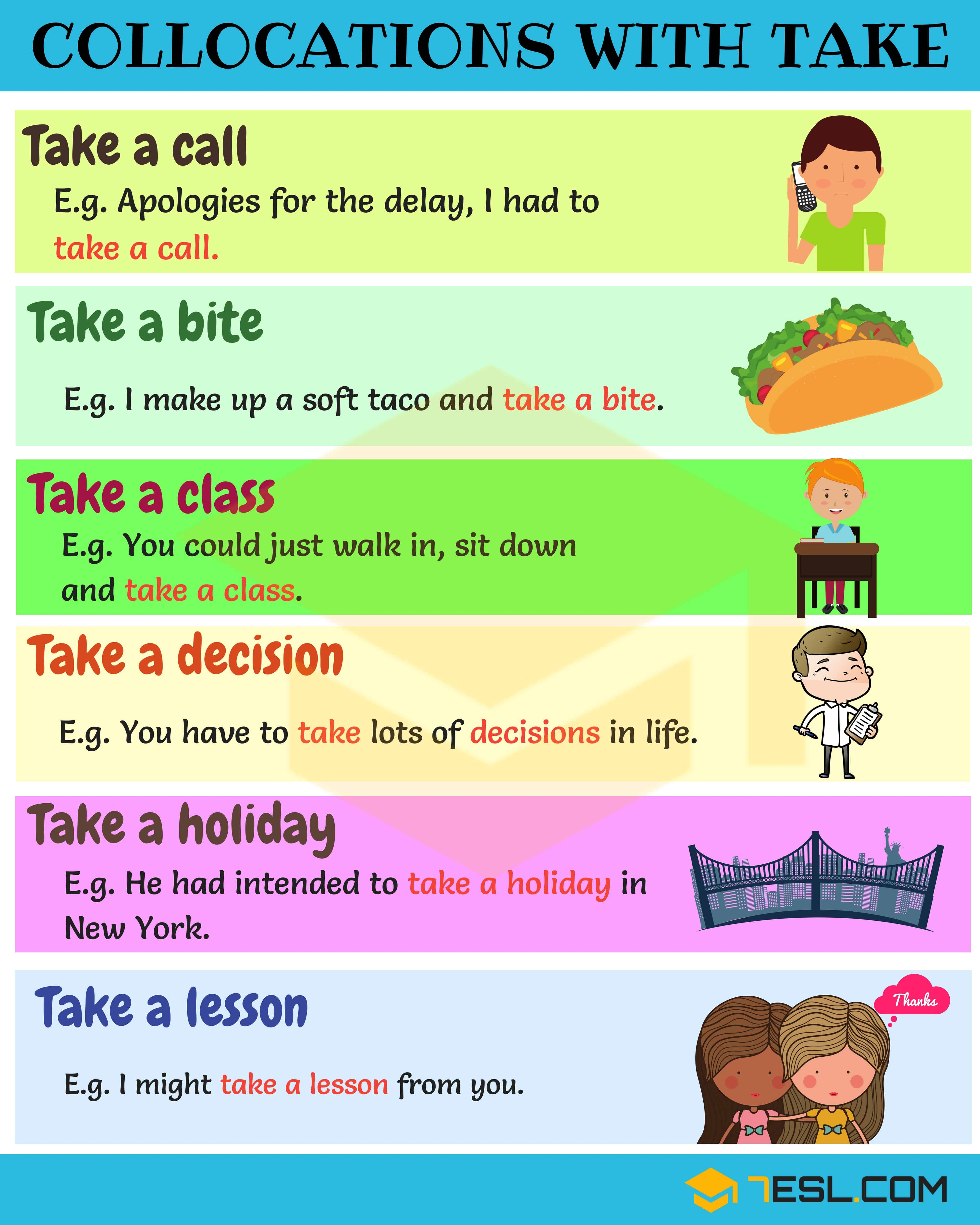 2500+ Common Collocations For English Learners 6