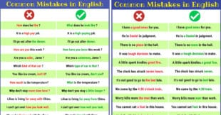 170+ Common Grammar Mistakes in English And How to Avoid Them