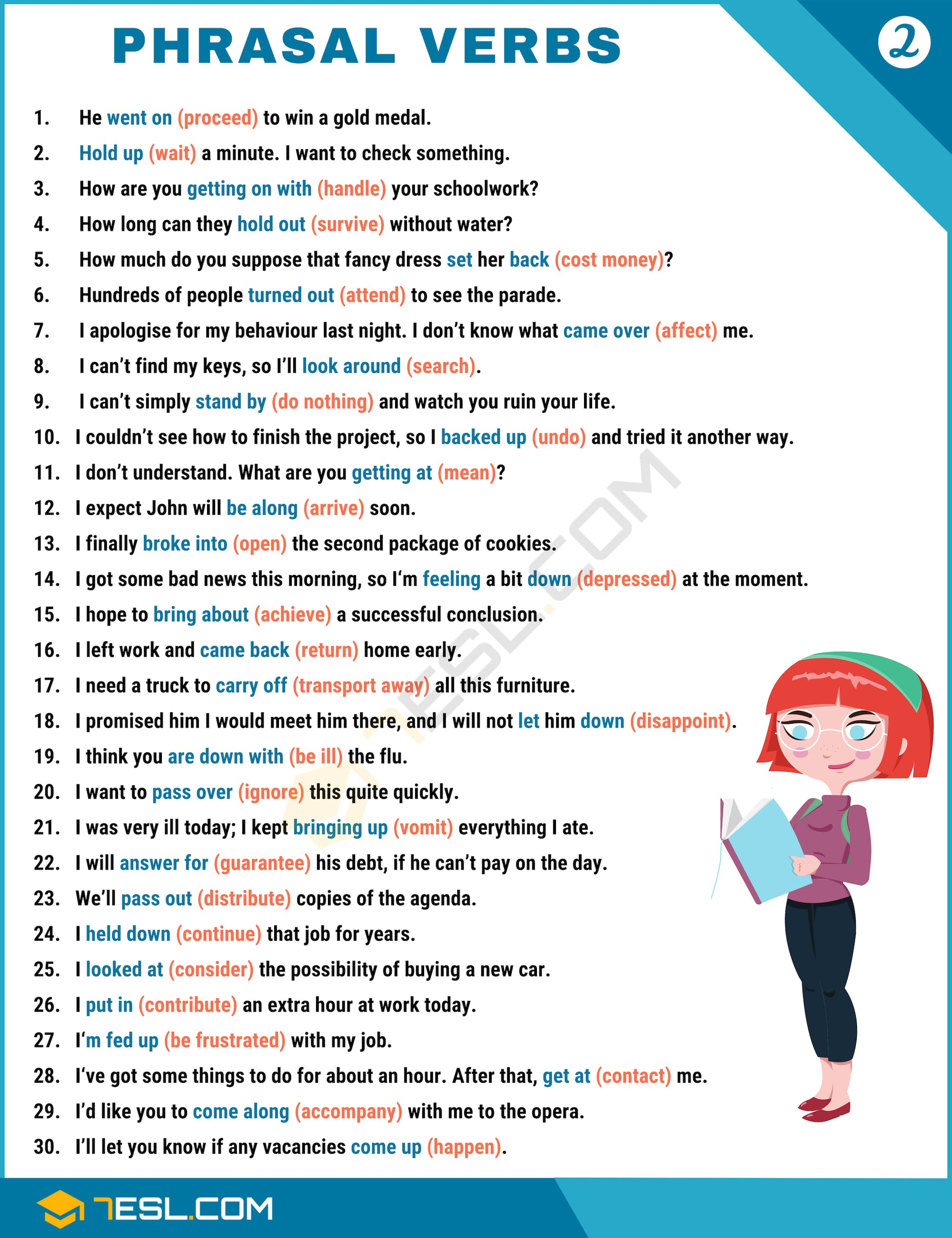 Phrasal Verbs Examples - Image 1