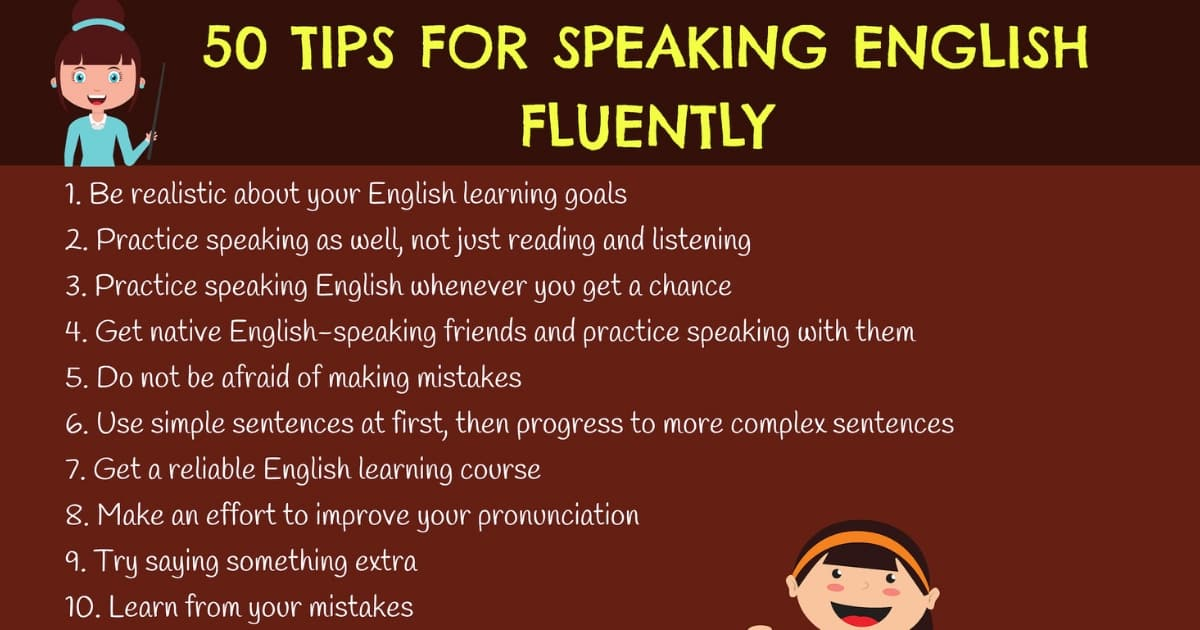 How to Speak English Fluently: 50 Simple Tips!! 4