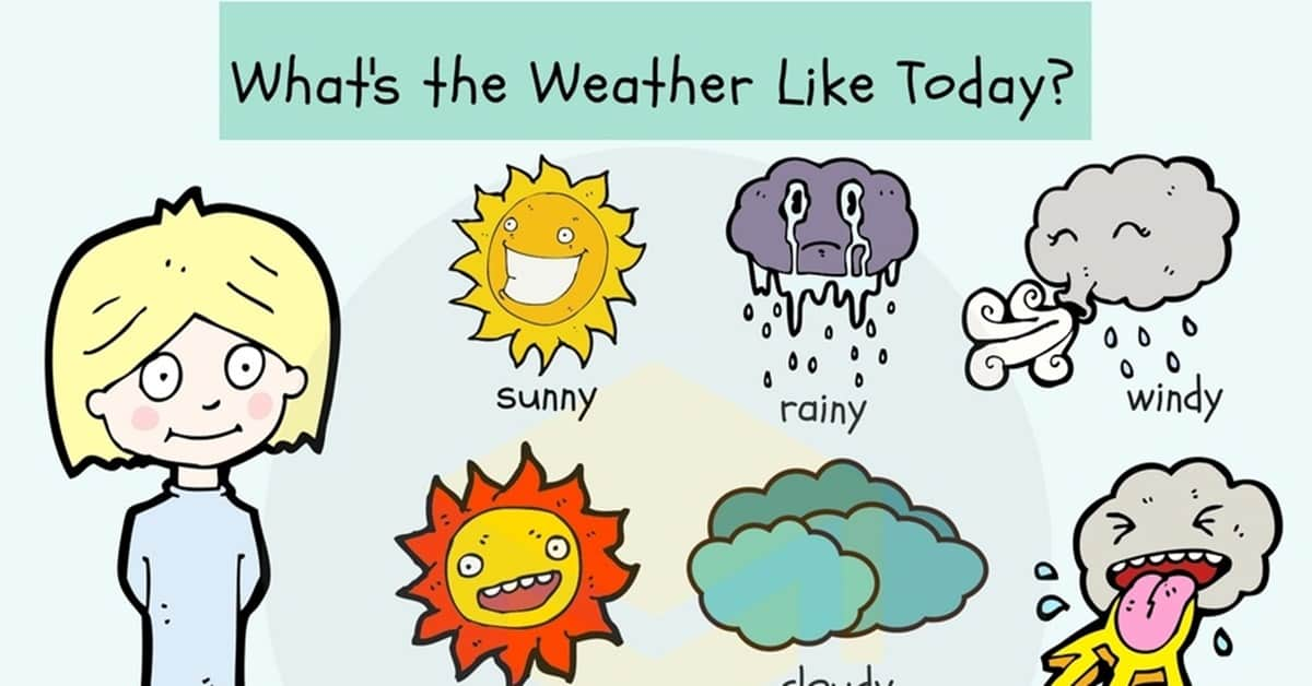 Weather Vocabulary: Useful Weather Words & Terms 1