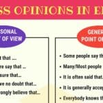 How to Express Your OPINIONS in English