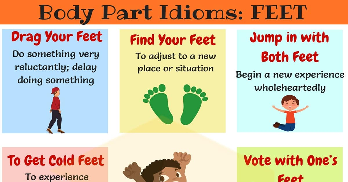 FOOT Idioms: Useful Phrases & Idioms with FEET in English 9