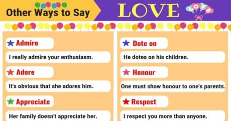 LOVE Synonyms: 11 Synonyms for LOVE in English 13