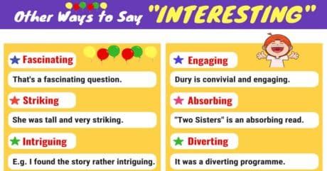 INTERESTING Synonyms:15 Synonyms for Interesting 4
