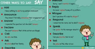 Synonyms for SAY: 15+ Useful SAY Synonyms in English