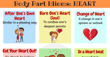 HEART Idioms: Common Idioms with Heart in English 12
