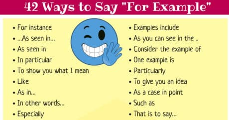 42 Ways to Say FOR EXAMPLE in English 3