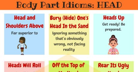 HEAD Idioms: 10 Useful Head Idioms in English 6