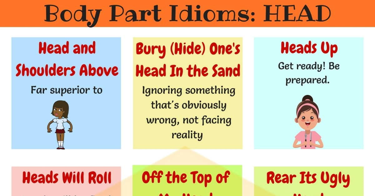 HEAD Idioms: 10 Useful Head Idioms and Phrases 8