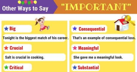 IMPORTANT Synonyms: Words to Use Instead of IMPORTANT 2
