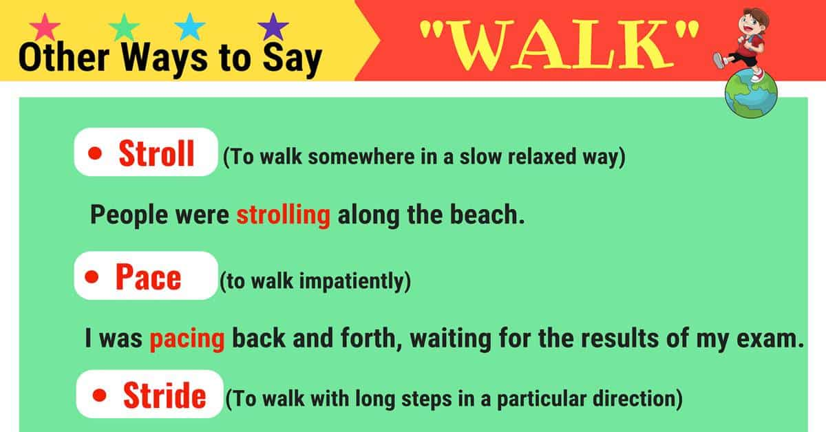 WALK Synonyms: 21 Synonyms for WALK in English 1