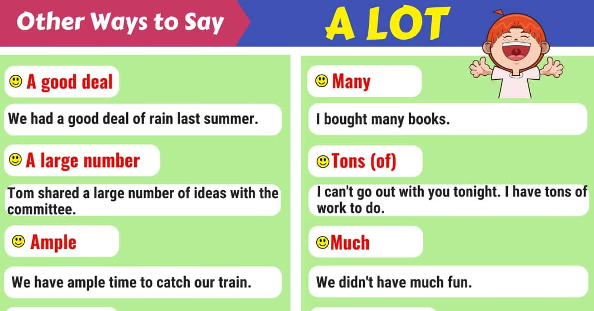 A LOT Synonym: List of 55+ Synonyms for A LOT 1