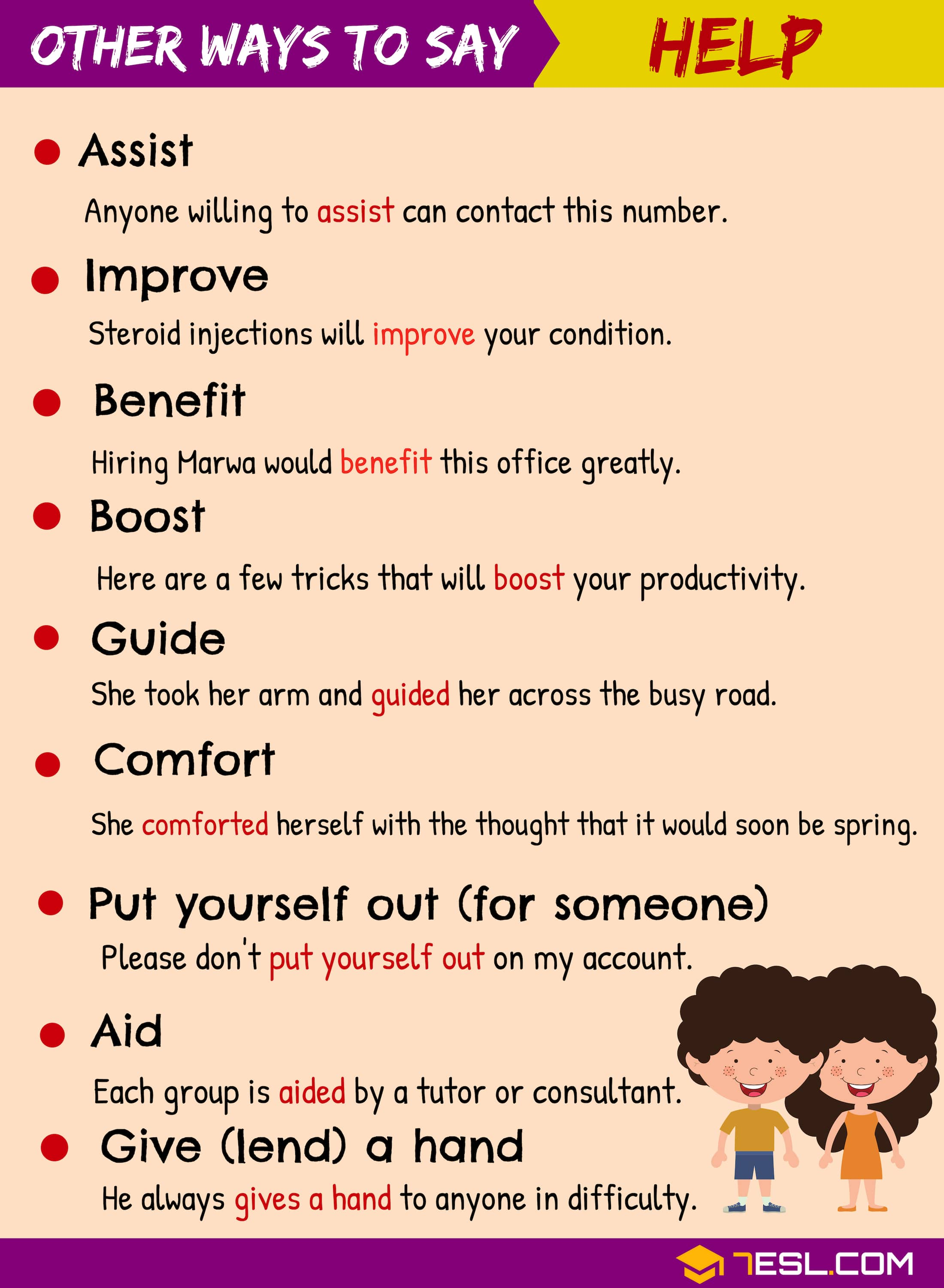 "Another Word for ""Help"" 