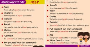 HELP Synonyms: 10 Useful Synonyms for HELP