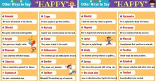 HAPPY Synonyms: 28 Synonyms for HAPPY in English