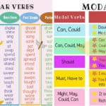 VERBS: What is a Verb? Useful Rules, Types & Examples