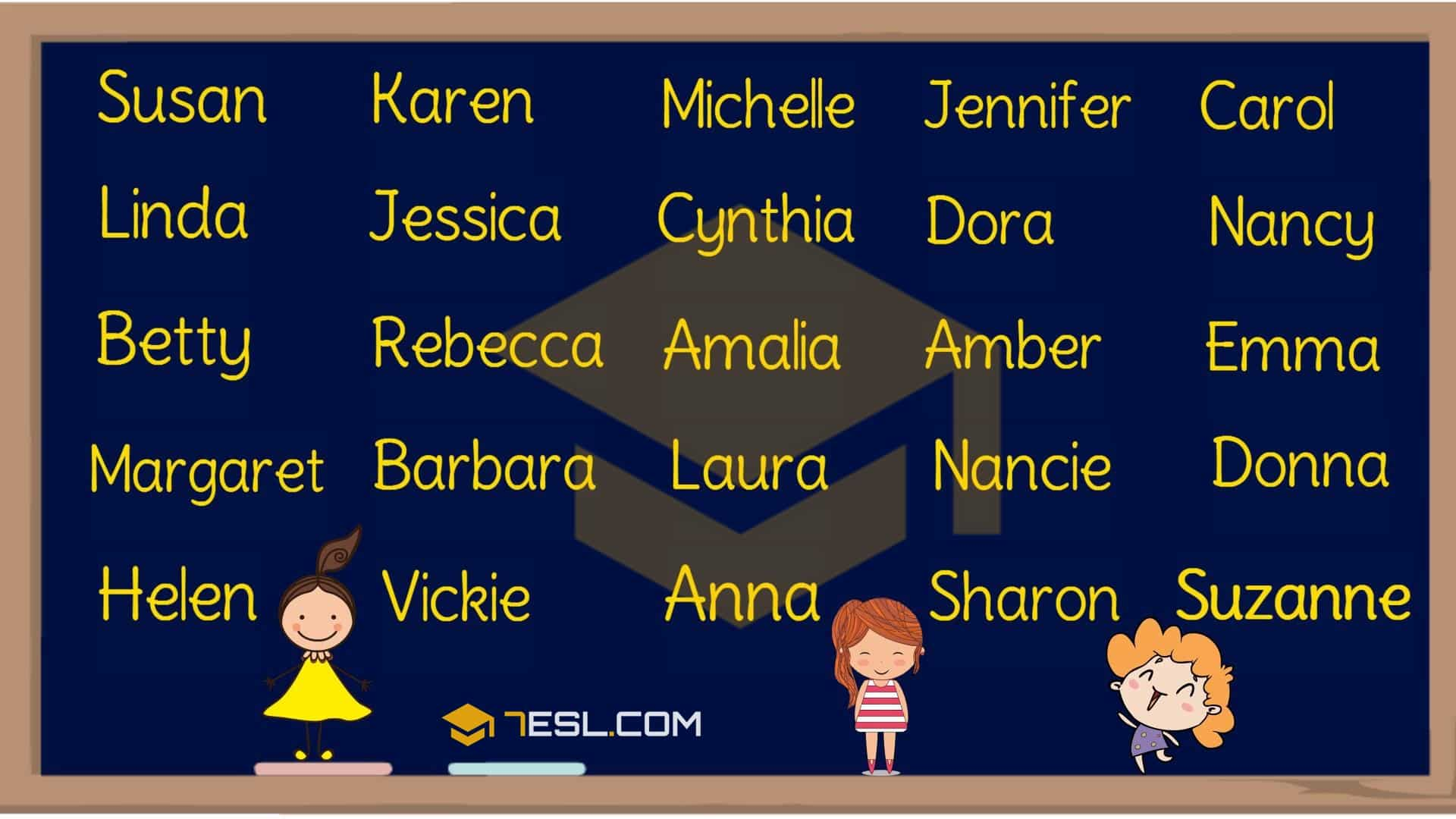 Female names in English