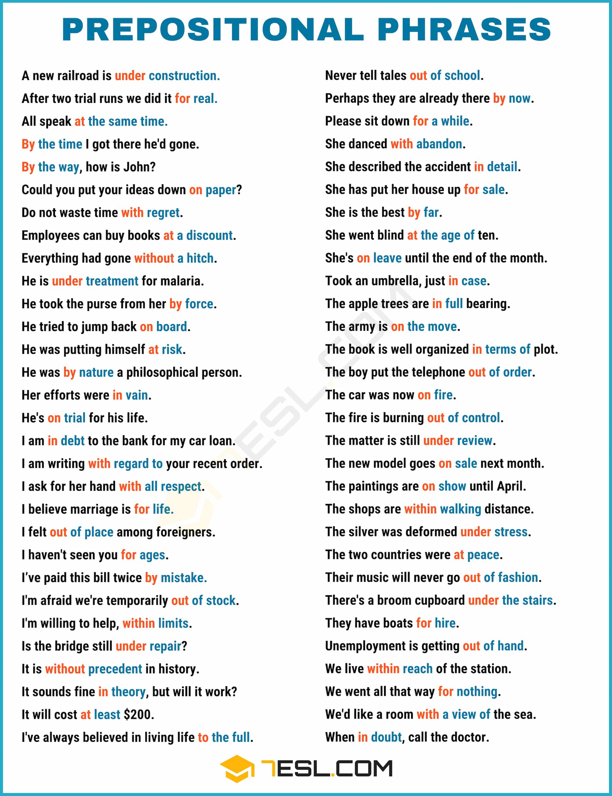 Prepositional Phrases: What is a Prepositional Phrases? Popular List and Examples