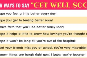 Get Well Wishes: 33 Useful Get Well Soon Messages with Images 10