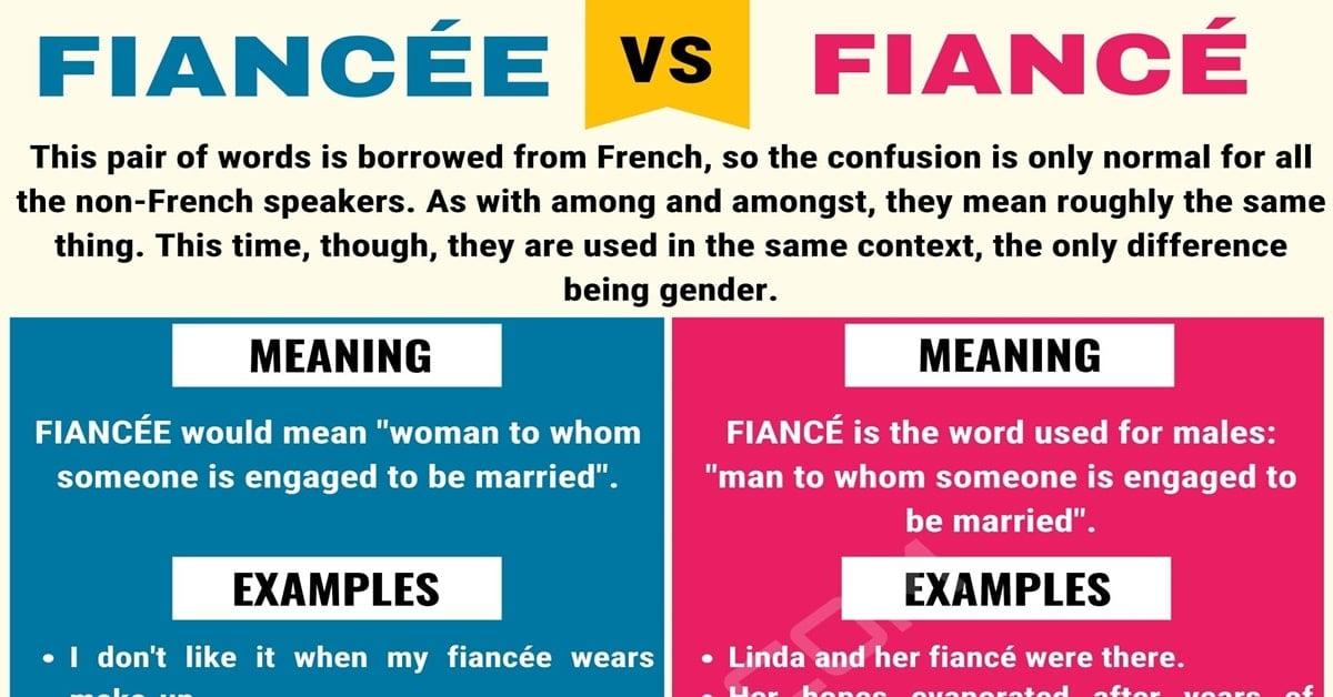 Fiancee or Fiance