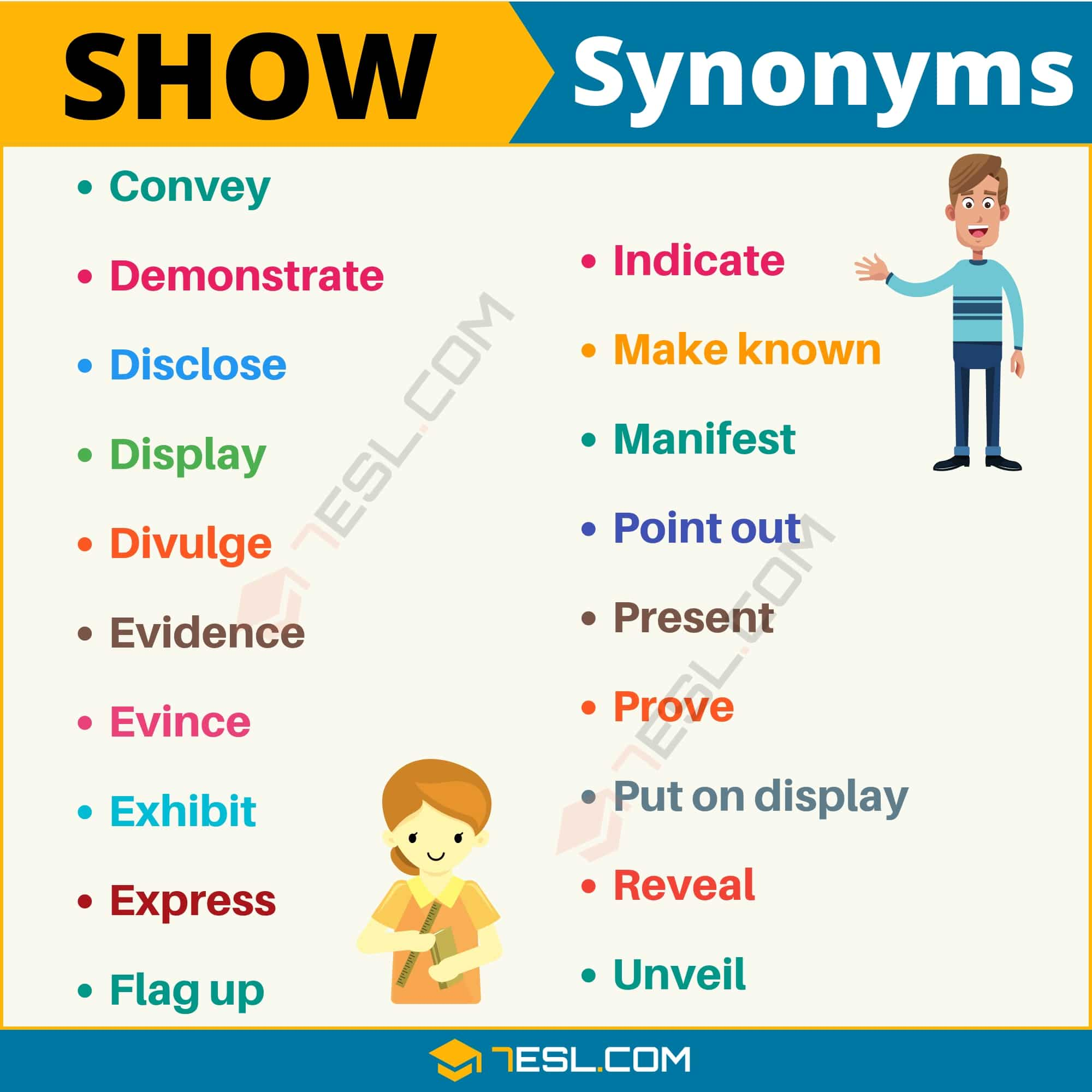 SHOW Synonym: List of 19 Synonyms for Show with Useful Examples