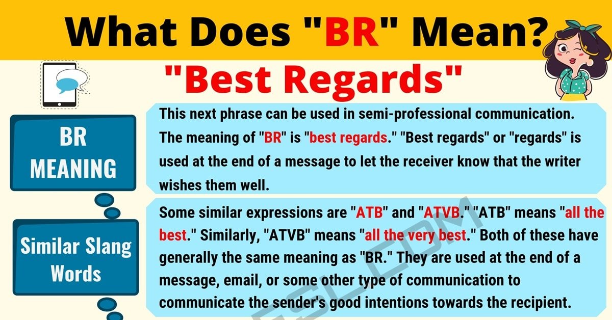 BR Meaning: What Does BR Mean in English? 1