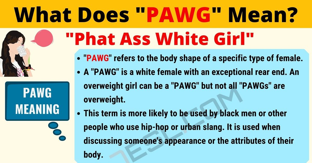 PAWG Meaning: What Does PAWG Mean? Interesting Text Conversations 1