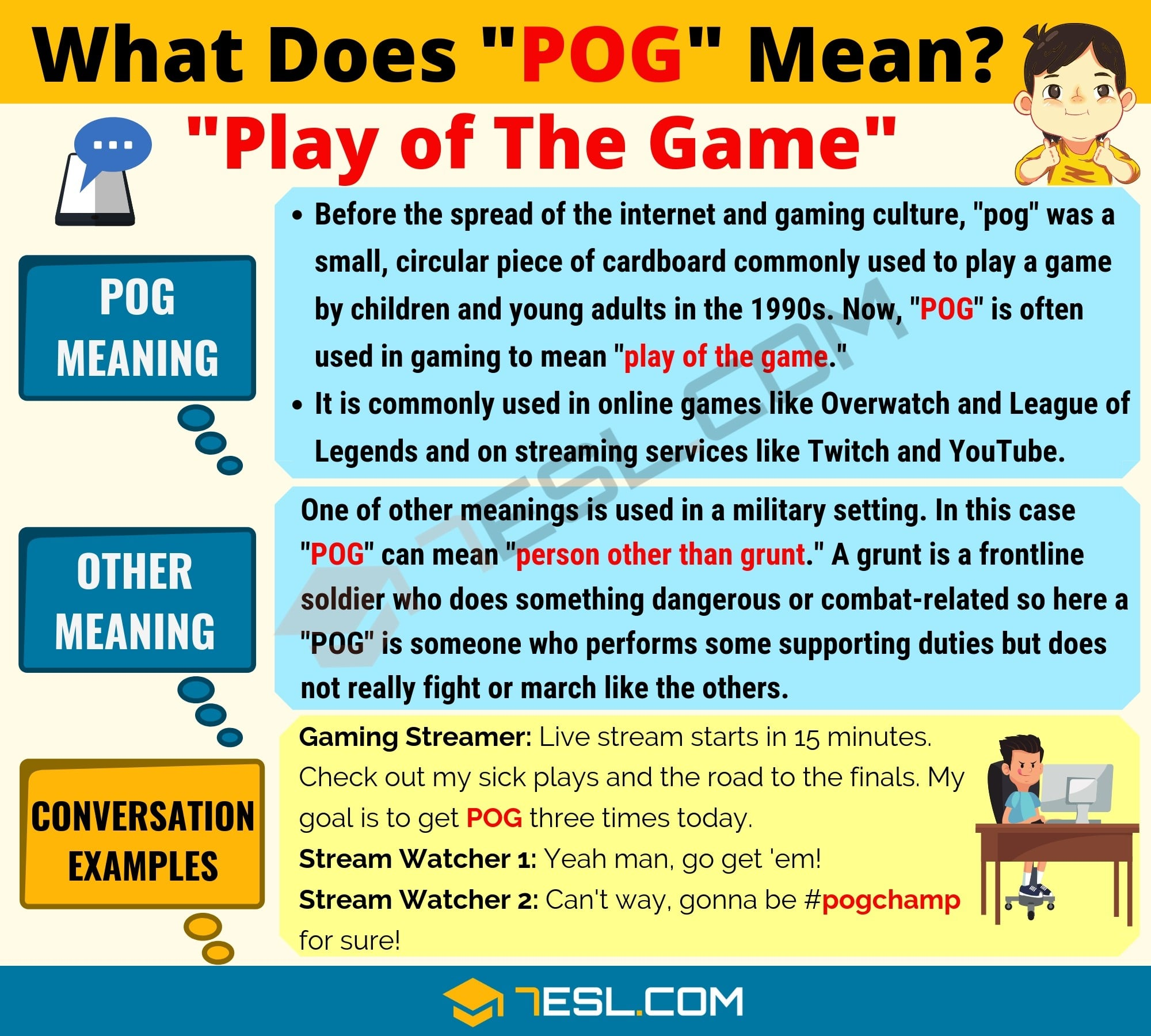 Pog Meaning What Does Pog Mean And Stand For With Cool Examples 7esl