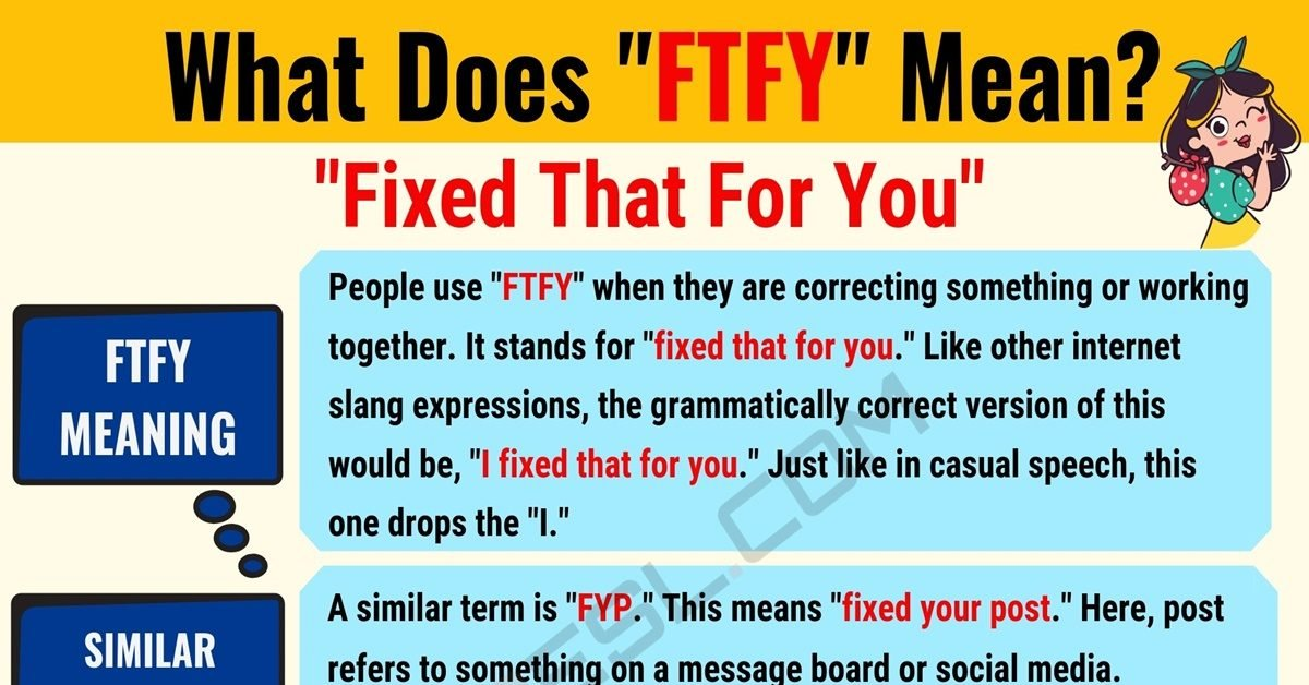 FTFY Meaning: What Does FTFY Mean? Useful Text Conversations 1