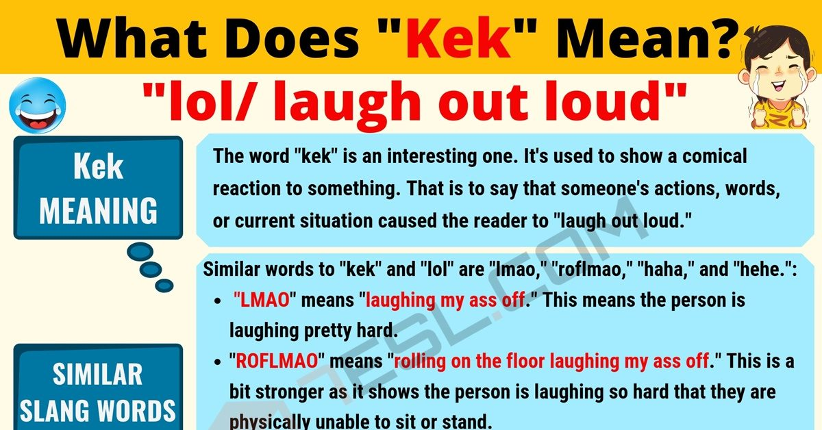 KEK Meaning: What Does Kek Mean? Interesting Text Conversations 1