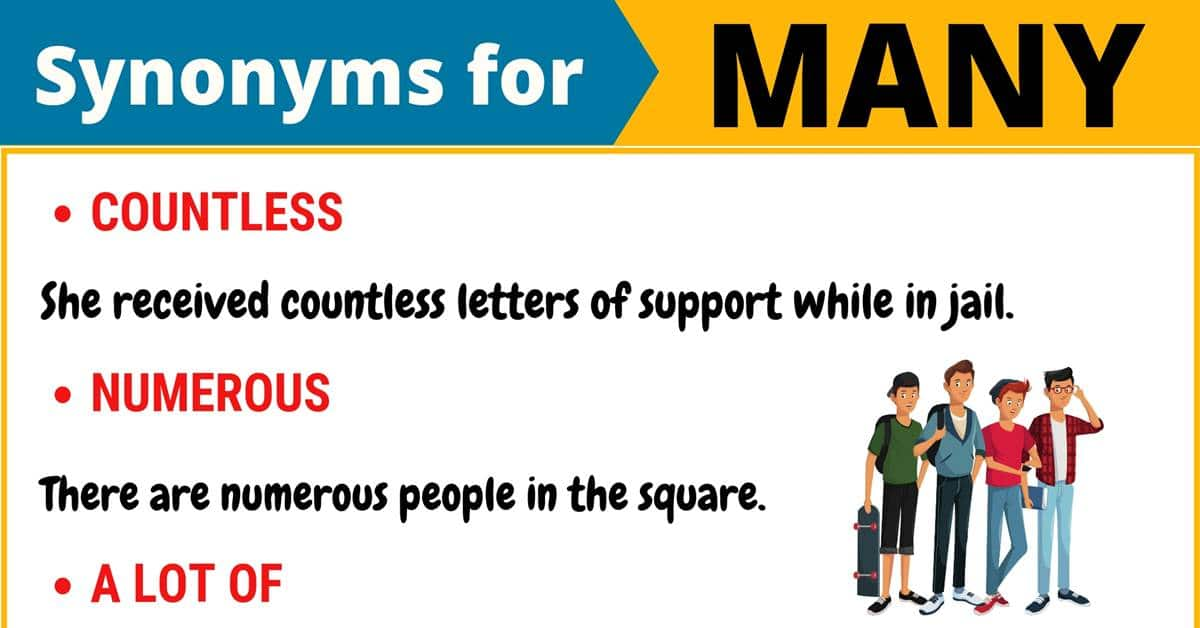 "Another Word for ""Many"" 