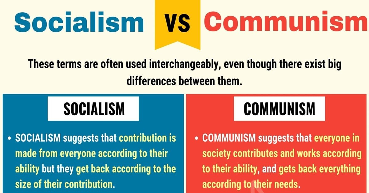 Socialism vs. Communism