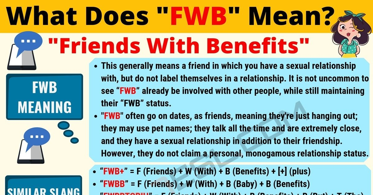 FWB Meaning: What Does FWB Mean? (with Cool Examples) 1